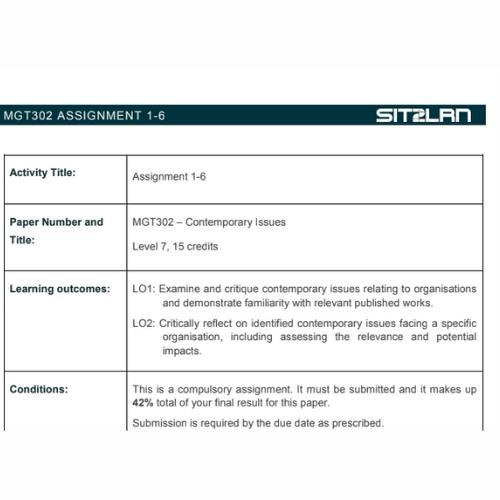 charles sturt university assignment sample