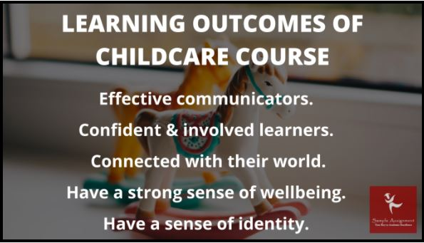 childcare course assignment help online