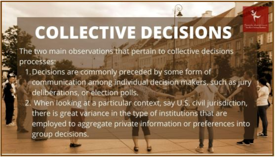 collective decisions assignment