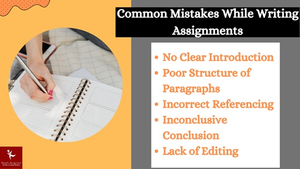 common mistake while writing assignment