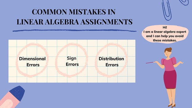 common mistakes in linear algebra assignments