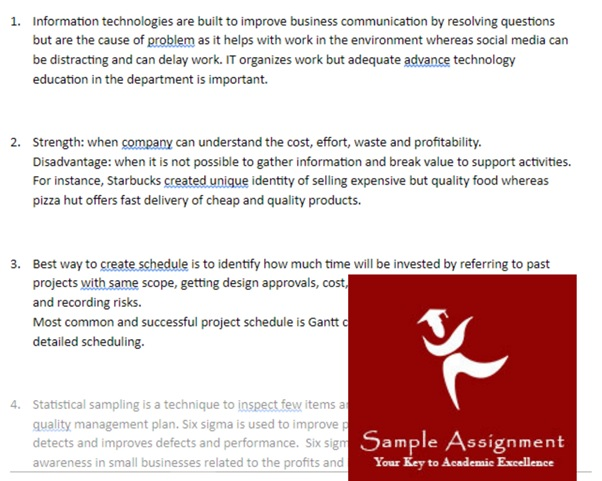 computer architecture academic assistance through online tutoring sample
