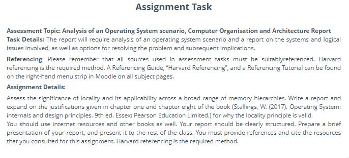 computer organisation assignment answer uk