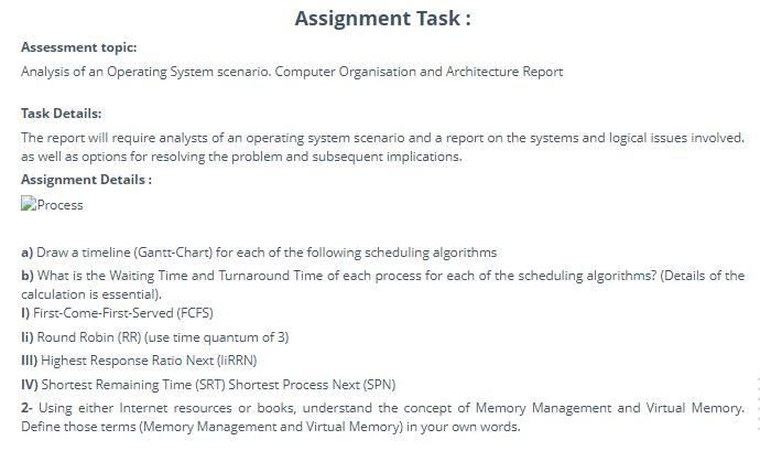 computer organisation assignment solution uk
