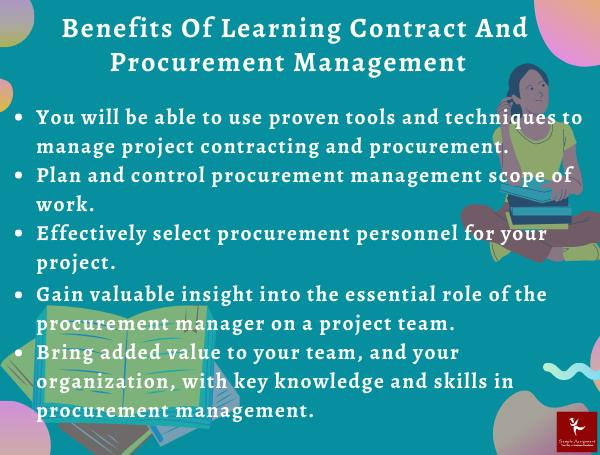 contract and procurement management homework help canada