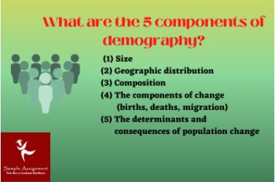 demography and population study assignment