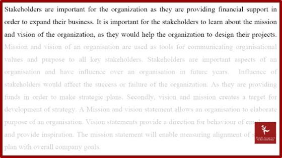 develop and implement strategic plans homework sample