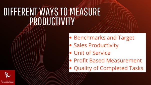 different ways to measure productivity