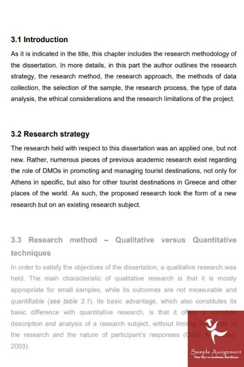 dissertation methodology writing help australia