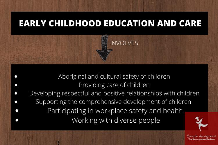 early childhood education and care assessment help