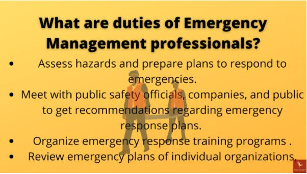 emergency management homework help