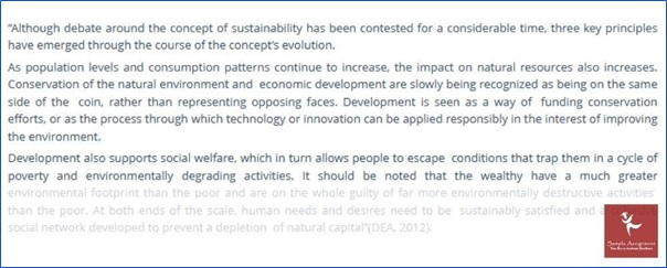 environment and development solution