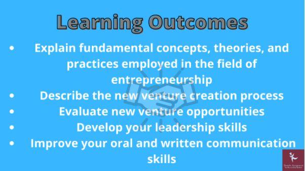 fundamentals of enterpreneurship homework online