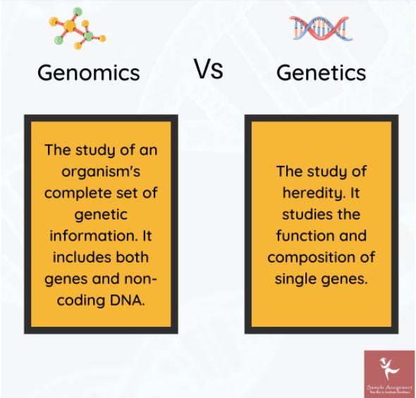 genomics assignment help uk
