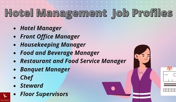 hotel management job profiles