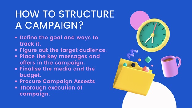 how to structure a compaign