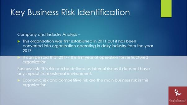 key business risk identification