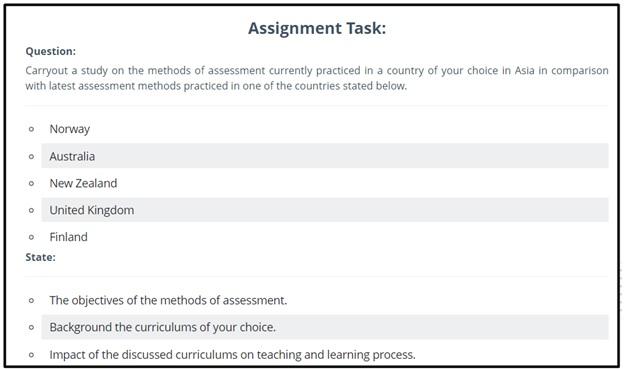 linguistics assignment task online