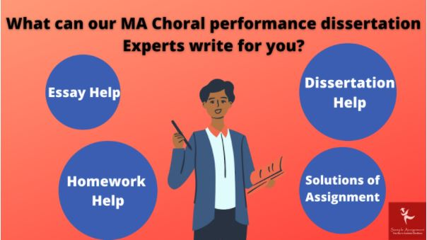 ma choral performance assignment help