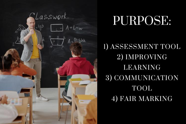 marking rubric purpose