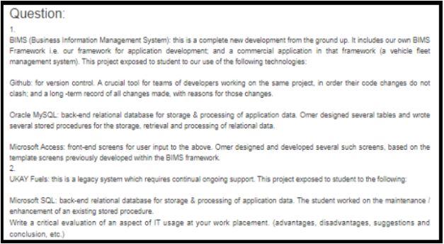 microsoft access assignment help sample