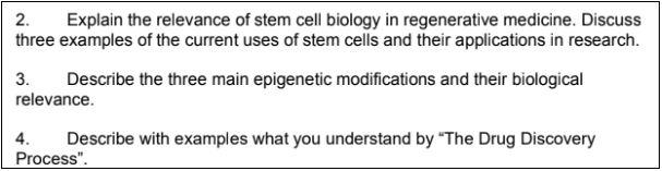 molecular biology assignment sample online