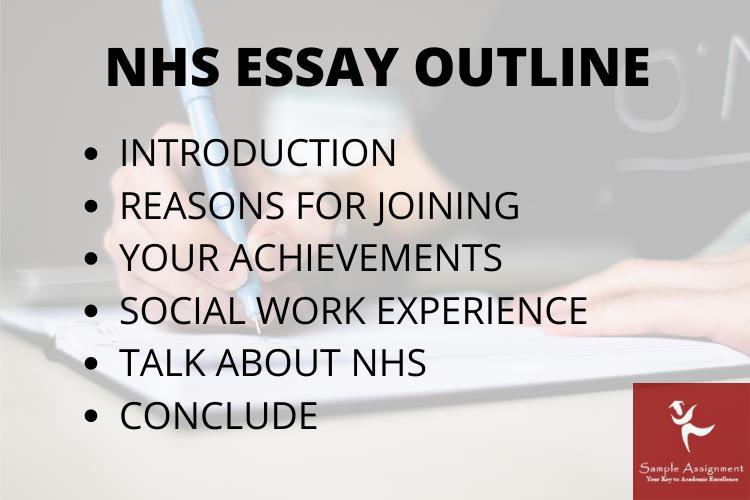 national honor society essay