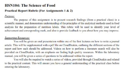 nutrition and health assignment help sample