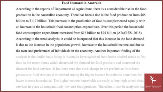 online agricultural economics assignment sample