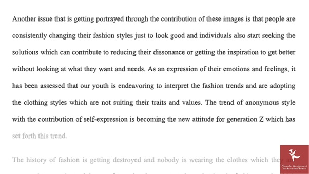 online bachelor of branded fashion design assignment sample answer