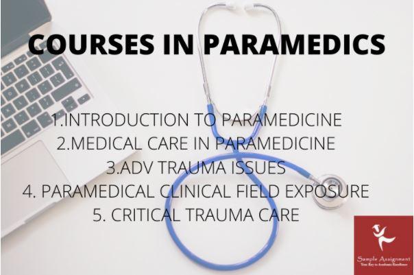 online paramedic case studies homework