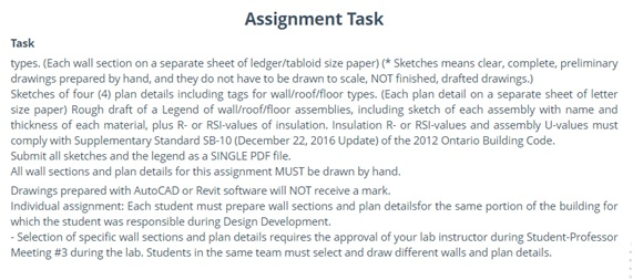 online revit assignment help service task