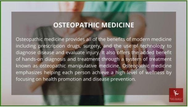 osteopathic medicine homework