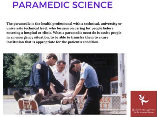 paramedic case studies homework