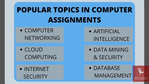 popular topics in computer assignments