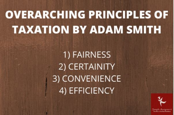 principles of taxation assignment online