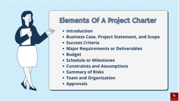 project charter assignment