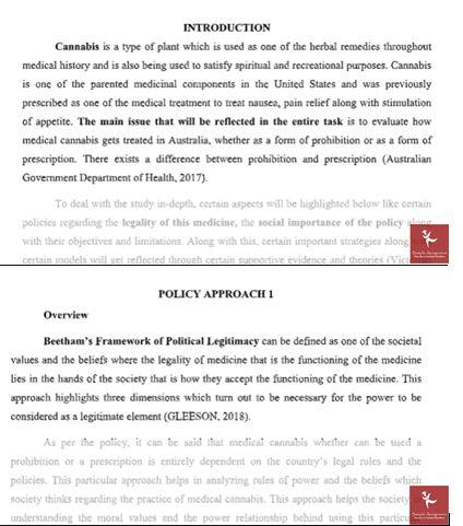 public policy homework answer canada