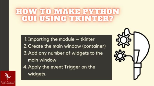 python gui assignment help