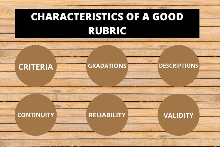 rubric characteristics