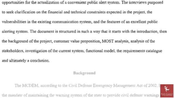 sample emergency management homework help