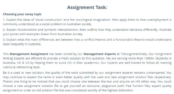 symbolic interactionism writing service assignment task online