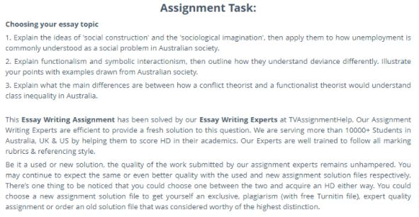 symbolic interactionism writing service assignment task