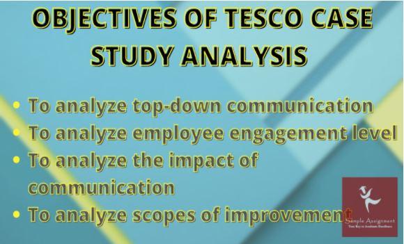 tesco case study help