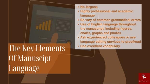 the key elements of manuscipt language