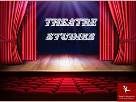 theatre studies online