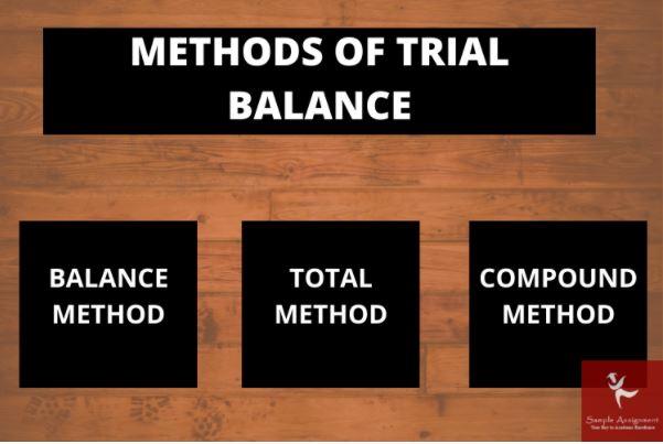 trial balance assignment online