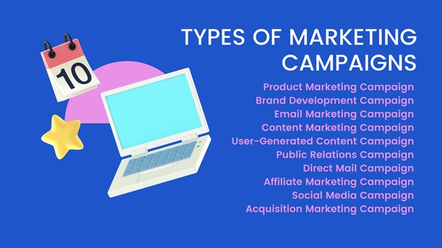 types of marketing campaigns