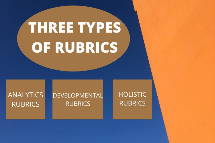 types of rubric