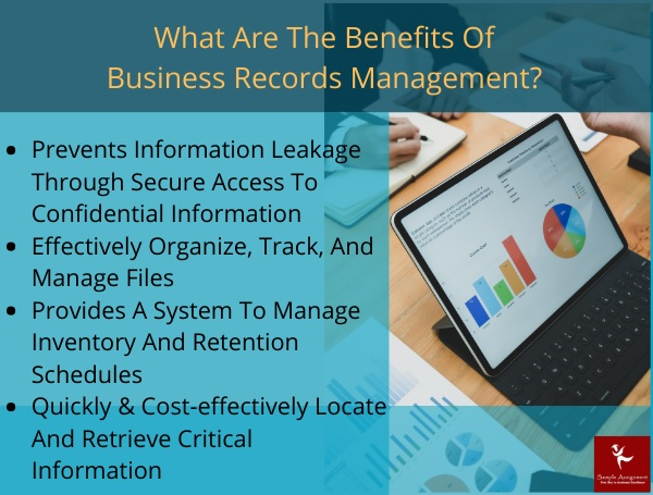 what are the benefits of business records management
